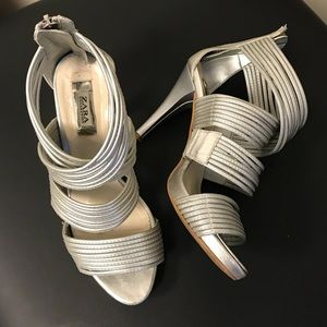 Zara Strappy Heel Sandals